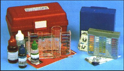 Please wait while this image of a Water Test Kit is loaded